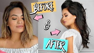 HOW I REPAIRED AND GREW MY SEVERE DAMAGED HAIR | HORROR STORY