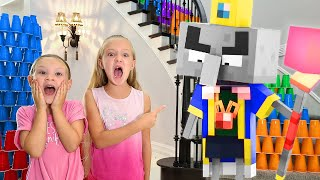 Minecraft Dungeons in Real Life!!! Defeating the Arch Illager!