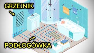Ogrzewanie w łazience - 6 sprawdzonych sposobów.