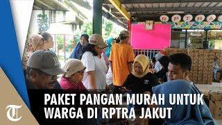 Paket Pangan Murah untuk Warga Disiapkan di RPTRA Sungai Bambu