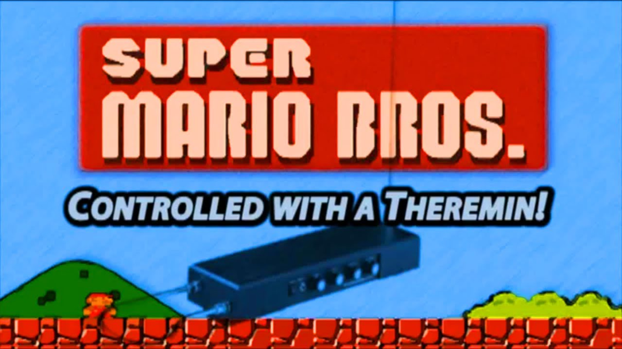 Playing Super Mario Bros. On A Theremin