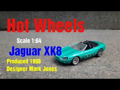 Hot Wheels 1998 Jaguar XK8