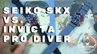 WHO WINS: Seiko SKX vs. Invicta Pro Diver