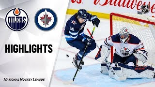 Oilers @ Jets 10/20/19 Highlights