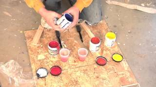 What to paint colors make red