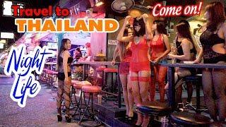 DU LỊCH THÁI LAN ▶ Khám phá thiên đường Ăn Chơi tại Pattaya Walking Street Thailand