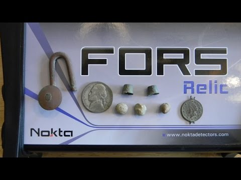 Nokta FORS Relic - Unboxing Review & Field Test