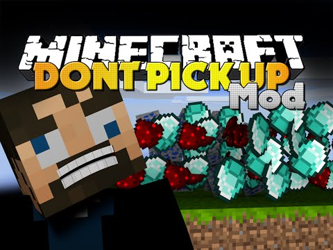 Minecraft Mod - DON'T PICK UP MOD - STOP PICKING UP DUMB ITEMS