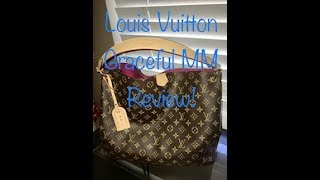 Louis Vuitton Graceful MM Monogram In Pivione