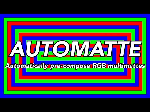 AutoMatte for After Effects