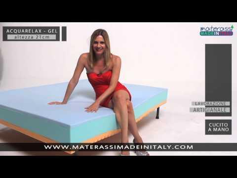 ACQUARELAX - Materasso in gel