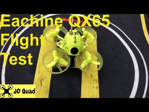 Eachine QX65 Outdoor Flight - Courtesy of Banggood