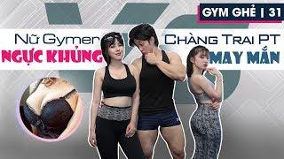Nữ Gymer ngực khủng và Chàng PT mông to may mắn