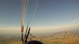 preview picture of video 'Paramotor 1st October 2011'