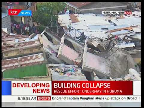 Huruma: 3 dead, several trapped in collapsed building in Huruma [Video]