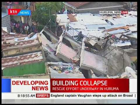 Huruma: 3 dead, several trapped in collapsed building in Huruma [Video]