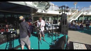 Euge Groove pool party on Dave Koz Ultimate Caribbean Cruise