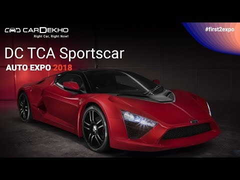 DC TCA Sportscar at Auto Expo 2018 | DC TCA and Modified Thar Hammer