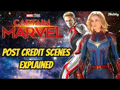 Captain Marvel Possible Post Credit Scenes Explained – Brie Larson 2019