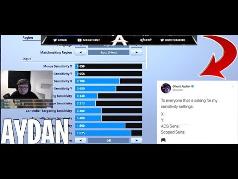 ghost aydan s new fortnite settings and deadzone updated - ghost issa fortnite controller settings