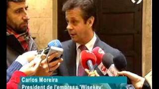 WISekey Hub TV Coverage in Spanish Carlos Moreira