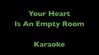 Your Heart Is An Empty Room - Karaoke - Death Cab For Cutie