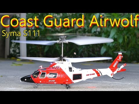 Easiest RC Helicopter to fly! S111 Coast Guard Review