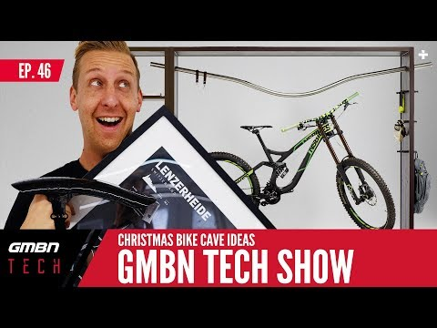 Pimp Your Bike Cave This Christmas + Doddy's New MTB | GMBN Tech Show Ep. 46
