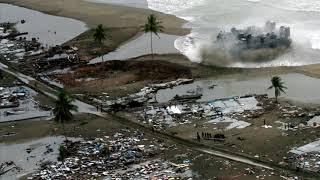 В Тихом океане произошло мощное землетрясение.