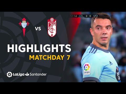 Highlights trận đấu giữa Celta Vigo và Granada CF
