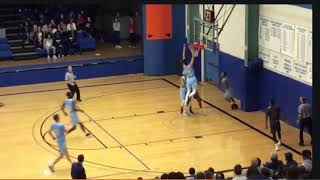 Xavier Smith Colby CC Basketball