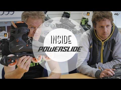 Inside Powerslide - Vi Fitness inline skates