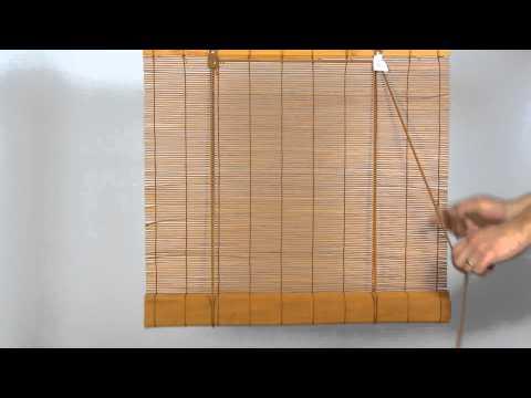 Bambusová roleta Terra