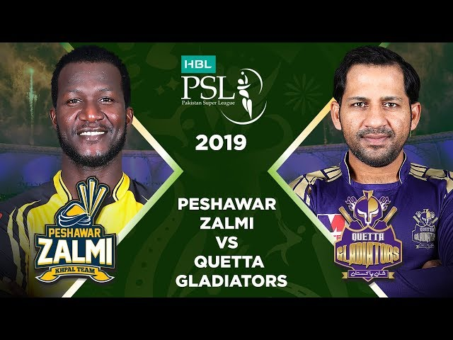 Match 34: Final Full Match Highlights Peshawar Zalmi Vs Quetta Gladiators | HBL PSL 4 | HBL PSL 2019
