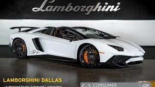 2016 Lamborghini Aventador LP 750-4 SV Roadster Bianco Isis LC432
