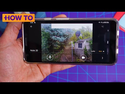 How To use an old phone as a home security camera for free