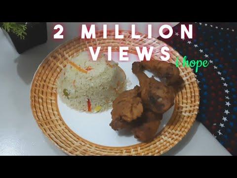 ভেজিটেবল ফ্রাইড রাইস & চাইনিজ চিকেন ফ্রাই || Cooking recipe studio