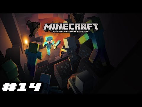 Minecraft PS4 2019 Gameplay - TUNNEL'S NOT DONE