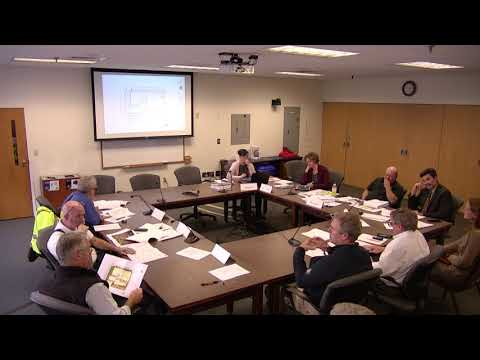10.15.2019 Technical Advisory Committee: Work Session