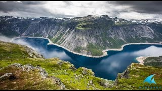 Путешествие по Норвегии. Август 2016. Видео.