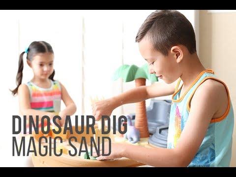 Dino Dig Magic Sand Recipe