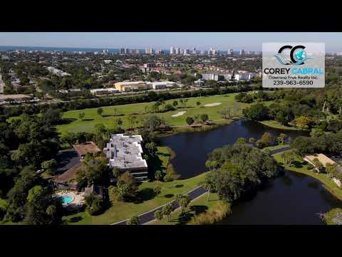 Wilderness Golf & Country Club Naples FL 360 Aerial Real Estate Homes & Condos