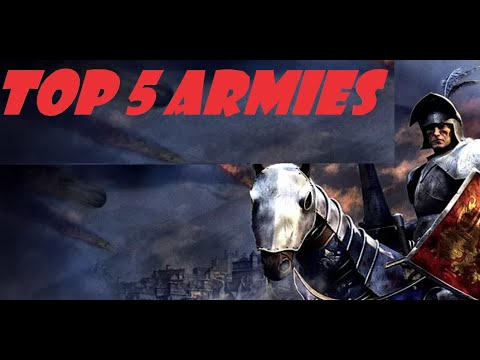 TOP 5 GOOD ARMY COMPOSITIONS FOR - Medieval 2 Total War Mp3