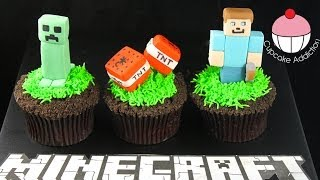 MINECRAFT Cupcakes - Let's Play Minecraft... in Cup Cake form!