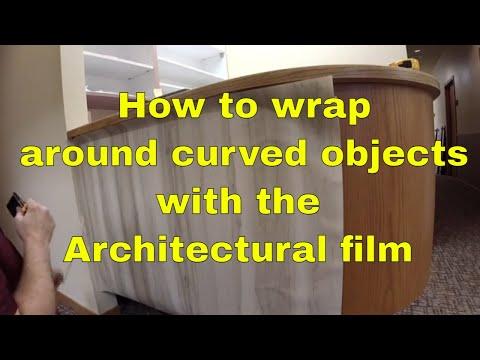 Reception Desk Front Wrap Rm wraps