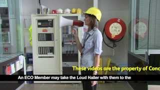 How to use a Loud Hailer During Emergencies