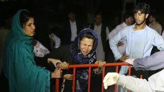video: Suicide-bomb at Kabul wedding leaves 63 dead and 182 wounded