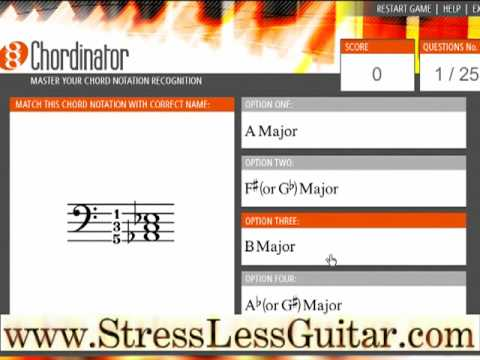 Easy learn Guitar Chords...