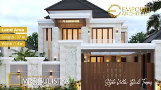 Video Mrs. Sulistya Villa Bali House 2 Floors Design - Pekanbaru, Riau