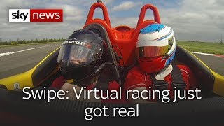 Swipe: Virtual racing gets real & how AR